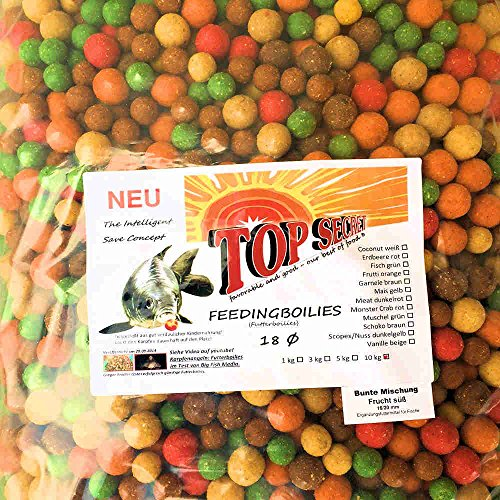 TOP SECRET 1,0kg Boilies Tutti-Frutti 20mm