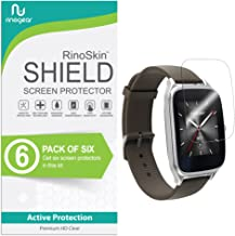 (6-Pack) RinoGear Asus Zenwatch 2 (1.63 inch) Screen Protector Case Friendly Screen Protector for Asus Zenwatch 2 Accessory Full Coverage Clear Film