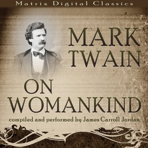 Mark Twain on Womankind audiobook cover art