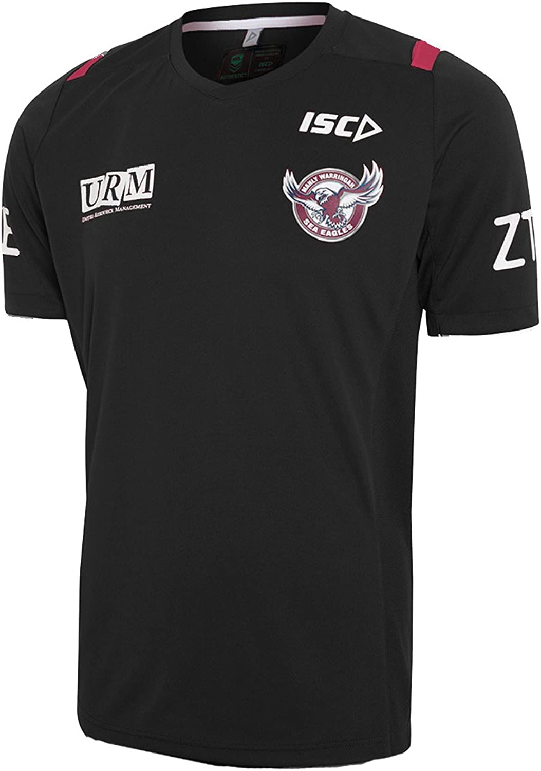 ISC Manly Sea Eagles 2017 NRL Black Training Shirt