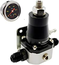 Fuel Pressure Regulator Kit - Universal Adjustable With AN6 Ports