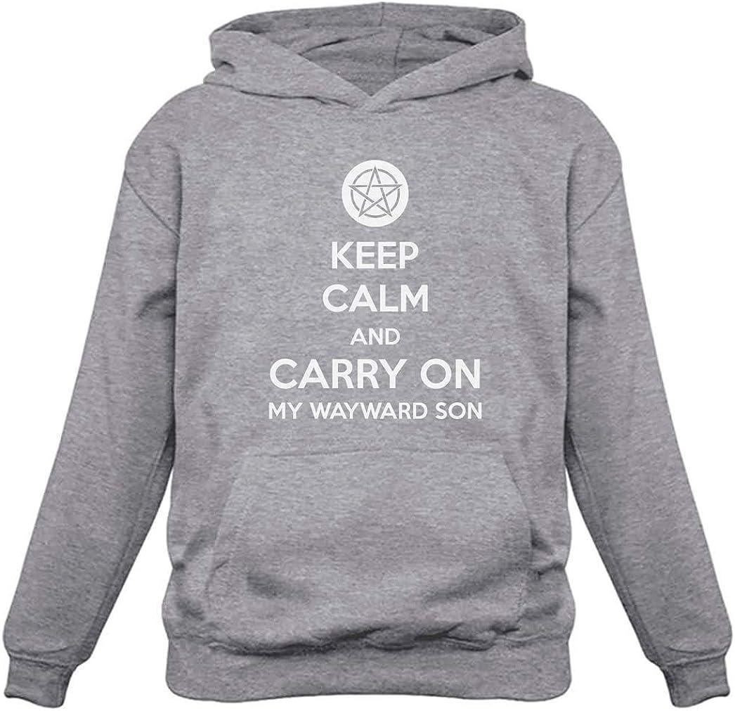Keep Calm and Carry On My Wayward Son Women Hoodie