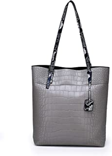 Classic Alligator Women Handbag Crocodile Large Totes Bag Skin Print Pu Leather Female Shoulder Bags