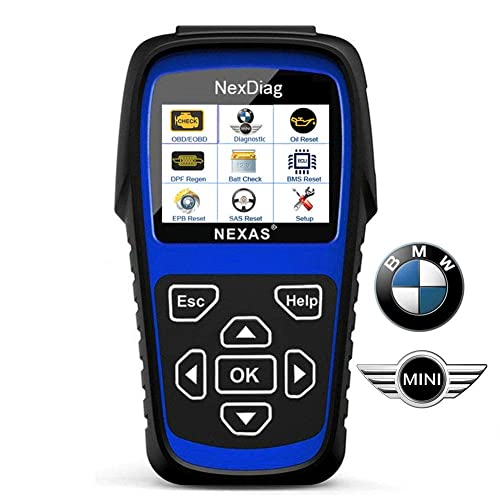 Diagnostic Scanner Tool Automotive Scanner for BMW MINI, NEXAS ND601 OBD II OBD2 Scanner Multi