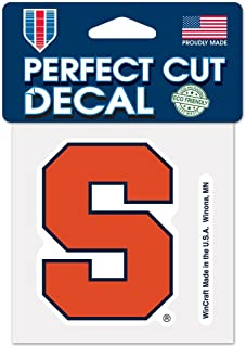 WinCraft NCAA Syracuse University Perfect Cut Color Decal, 4