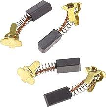 ENET - 4 piezas de repuesto para cepillo de carbono 999-054 compatibles con Hitachi G18DL G18DMR G18DSL G14DL G14DMR G14DSL