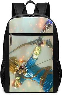 Morning AB 大容量 カジュアルリュック ゼルダの伝説 ブレスオブザワイルド Backpackフラップデイパック 通学 旅行 通勤