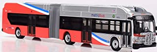 Iconic Replicas New Flyer Excelsior Bus Articulated DC Metro 1/87 Scale- HO Scale New! Limited Production