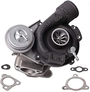 HENYEE K03 Turbo Exact Fit for Volkwagen VW PASSAT & AUDI A4 1996-2006 A/R .87-1.8 1.8T 250+HP Turbocharger & Gaskets Black Finish