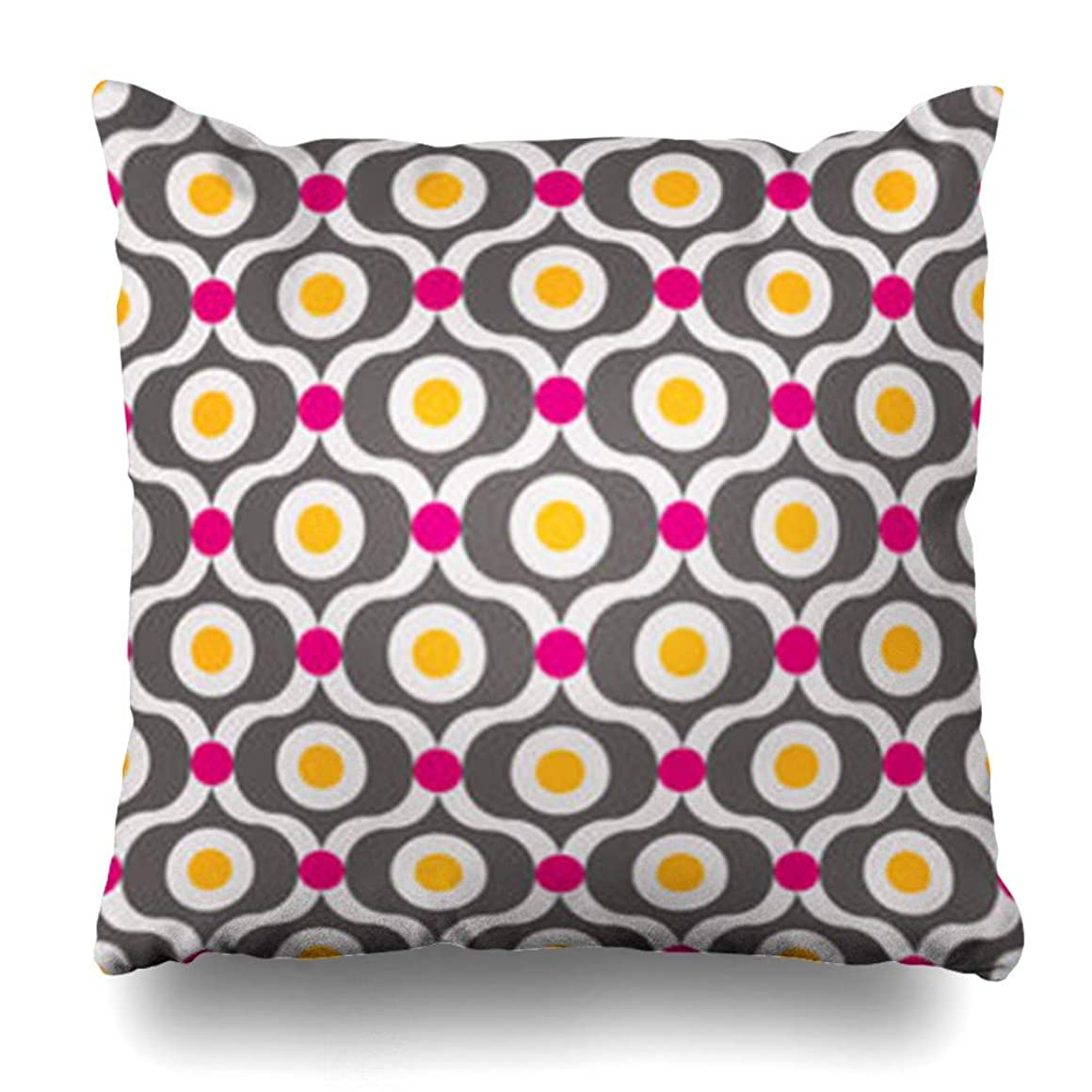桃奨学金あいにく枕カバー明るい紫色の男性的な厳格なパターン幾何学的39抽象赤ネクタイ幾何学的な格子縞キャビン家の装飾ソファ枕カバースクエアサイズ18 * 18インチクッションケース