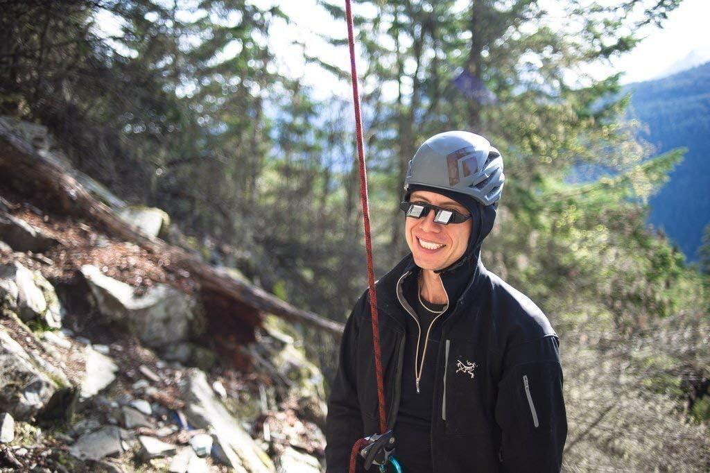 FIT4OLYMP Gafas de seguridad para escalada y seguridad para personas que llevan gafas, alivia la tensión en el cuello