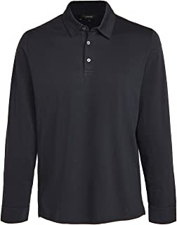 Vince Men's Long Sleeve Polo Shirt