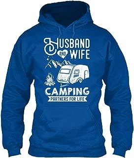 Husband and Wife Camping Partners. Sweatshirt - Gildan 8oz Heavy Blend Hoodie