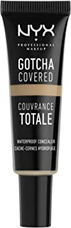 NYX PROFESSIONAL MAKEUP Gotcha Covered Concealer, Medium, 0.27 Ounce