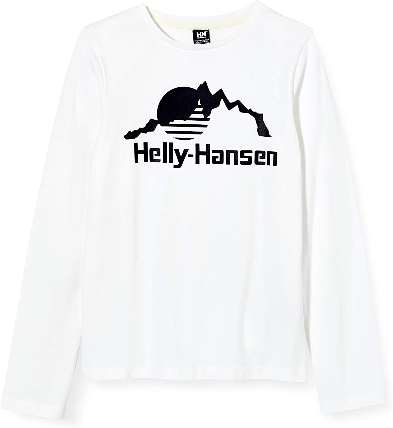 Helly-Hansen Unisex-Child Printed Hh Long-Sleeve Graphic T-Shirt Charlotte Max 80% OFF Mall