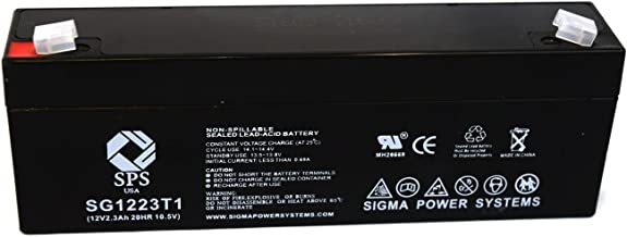 SPS Brand 12V 2.3 Ah Terminal T1 Replacement Battery for Dr Power Equipment 24749 (1 Pack)