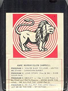 ANNE MURRAY & GLEN CAMPBELL 8 Track Tape