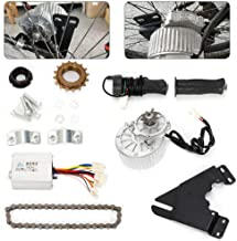 RanBB 24V/36V 450W Electric Left Chain Drive Conversion Kit High Speed Suit for Normal Bike (36V 450W)