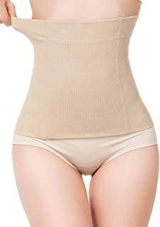 Women Postpartum Belly Band Waist Trainer Cincher Corset Tummy Control Body Shaper Girdle