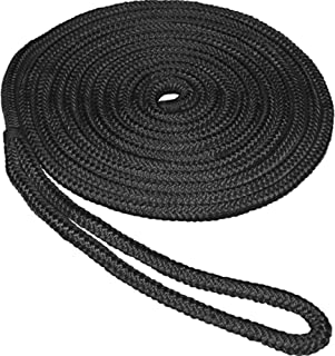 Shaddock Fishing Double Braided Nylon Dock-line Boat Mooring Anchor Rope Dock Lines for Boat Docking Lines,Eyelet:12