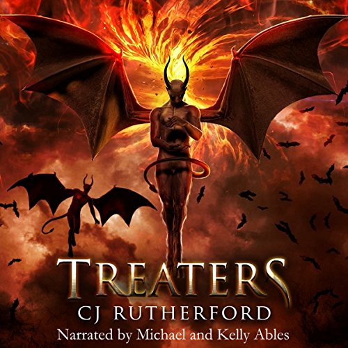 Treaters audiobook cover art