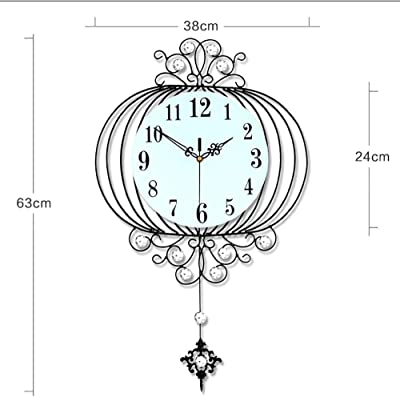 YHEGV Modern Chinese Watches 20 Metal Customs Hanging Lounge Hours just The Hanging The Silence to