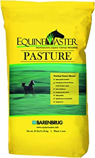 Barenbrug Equinemaster25 Pasture Seed - Perfect for Horses and Livestock - Tolerant Formula to Resist Traffic Pressure - 25 lb - Covers 1 Acre