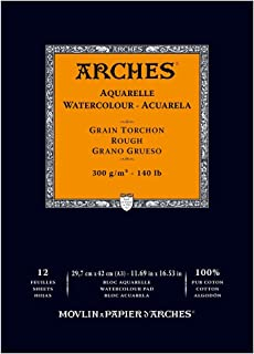 Maruman Arches watercolor paper block 18 x 26 A coarse texture 177-163 japan import