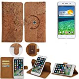K-S-Trade 360° Cover cork Case for Cubot X9 | Smartphone