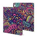 Étui pour iPad 2020 Air 4 (11 pouces), motif floral abstrait (2) pour iPad 2020 Air 4 (11 pouces),...