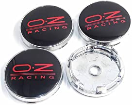 Sponsored Ad - 4PCS 2.36INCH Car Styling Accessories Emblem Badge Sticker Wheel Hub Caps Centre Cover OZ RACING