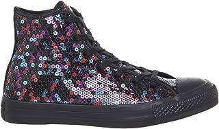 sparkly high top converse