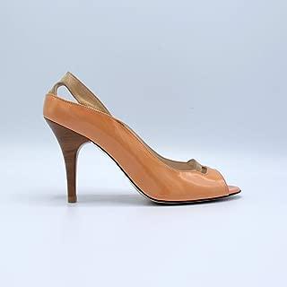 Deri Topuklu Kadın Ayakkabı