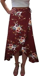 Yonala Womens Boho Floral Tie Up Waist Summer Beach Wrap...