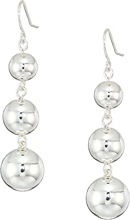 LAUREN Ralph Lauren - Metal Bead Gradual Linear Earrings