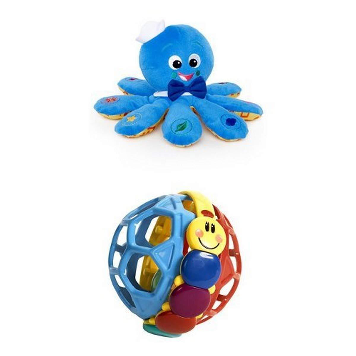 Octoplush Plush Toy + Bendy Ball