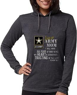 I Am an Army Mom No Fear - Womens Hooded Shirt