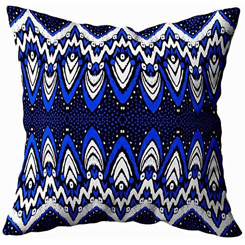 jonycm Pillow Cover Ornement Folklore Géométrique Tribal Ethnique Texture Motif Rayé dans Style...
