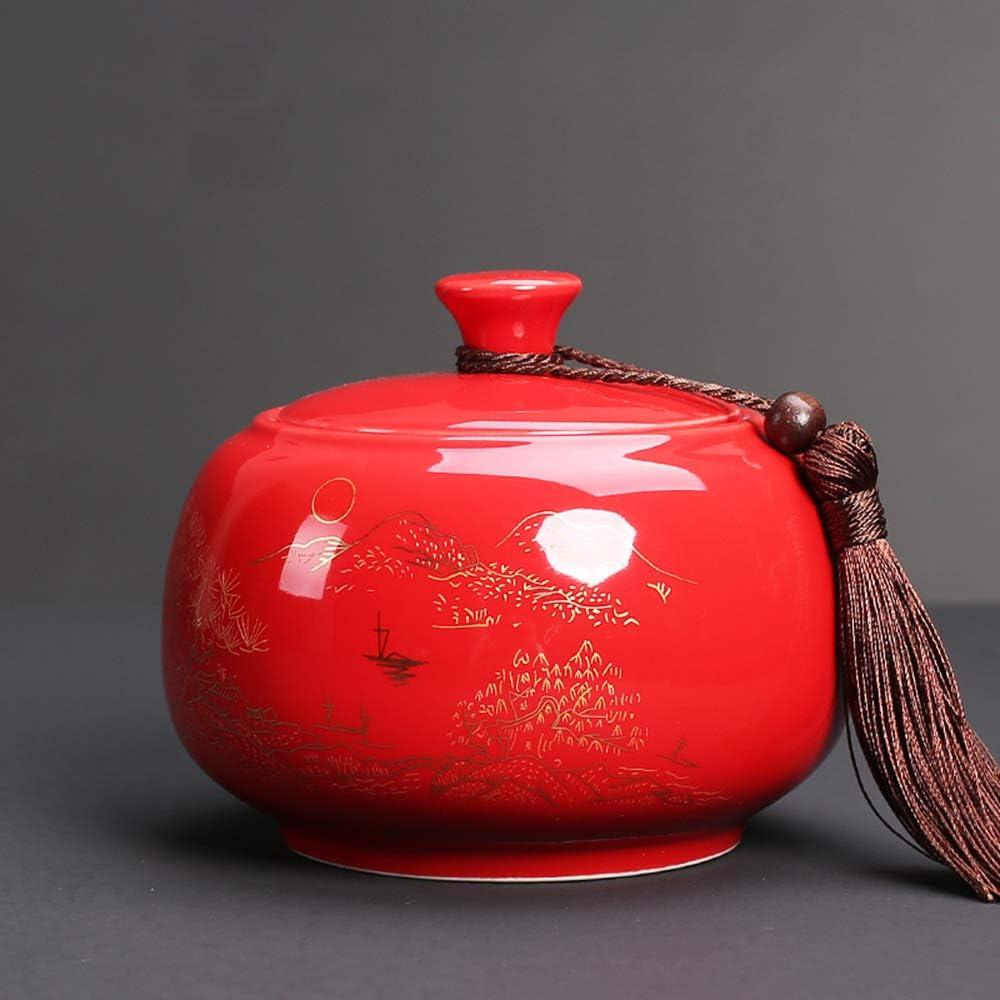 Moisture-Proof Sealed Food Dry Storage Tea Ceramic unisex Nashville-Davidson Mall Container Can
