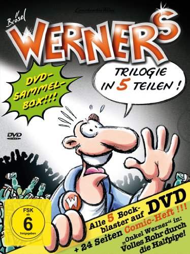 Werner - Comic-Box [5 DVDs]