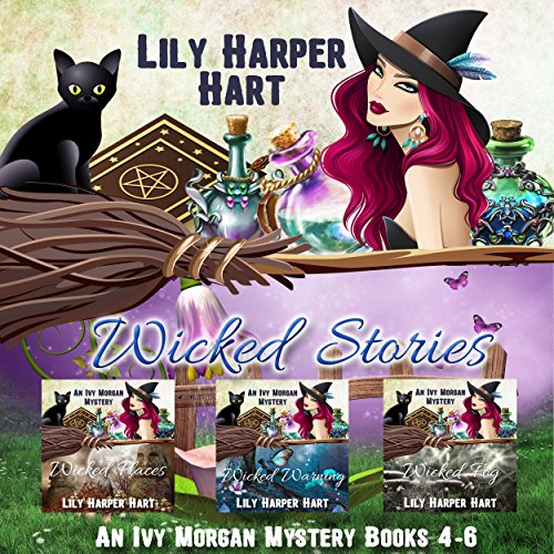 Wicked Stories: An Ivy Morgan Mystery Books 4-6 cover art