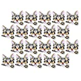 20 piezas bordado gato patrón apliques insignia coser en parches e insignias parche de reparación de tela para ropa jeans chaquetas zapatos niñas niños niños