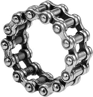 Stainless Steel Motorcycle Biker Ring
