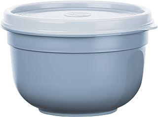 Emsa N1080500 Superline Recipiente hermético, Cuenco: plástico (PP), Color Azul, 0,6 L