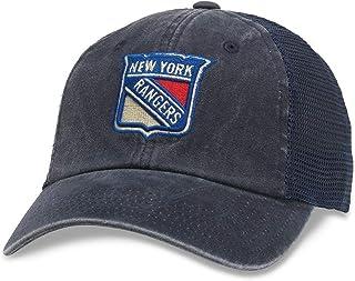 American Needle Raglan Bones NHL Mesh Strapback Hat (41152A-Parent)