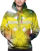 RGHDFFD72JFD9 Imagine_Dragons Men's 3D Printed Hoody Fleece Sweatshirts Hooded Pullover Hoodies Sweater Jacket Tops with Pocket M