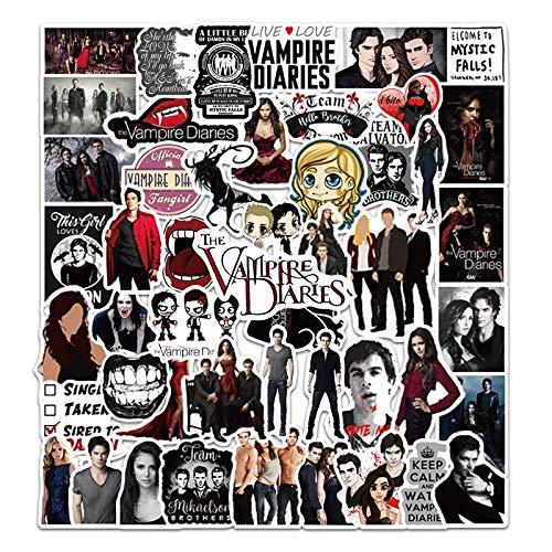 LVLUO Vampire Diaries Graffiti-Aufkleber...