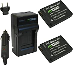 Wasabi Power Battery (2-Pack) and Charger for Samsung BP85A, EA-BP85A and Samsung PL210, SH100, ST200F, WB210