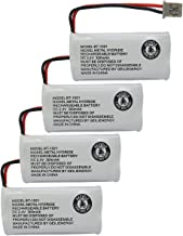 GEILIENERGY 2.4V 300mAh BT-1021 BT-1025 BT-1008 BT-1016 Phone Battery Compatible with Uniden BT1021 Empire CPH-515B BBTG0798001 Cordless Phone (4-Pack)