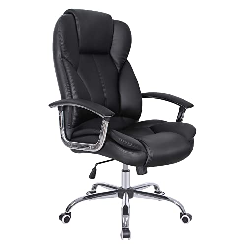 Marvelous Real Leather Office Chair Amazon Co Uk Download Free Architecture Designs Terchretrmadebymaigaardcom